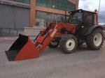 Traktör Ön Yükleyici Takmatik Düz Kovalı Kepçe