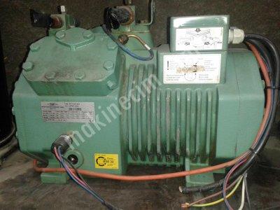 Satılık 2. El 7,5 HP Bitzer Soğutma Kompresörü Fiyatları Ankara Bitzer soğutma kompresörü