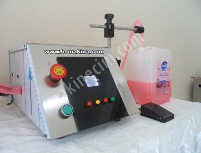 Elektrikli Sıvı Dolum Makinası Şampuan,sabun,bal,ketçap,hardal Dolumu Yapabilmektedir.