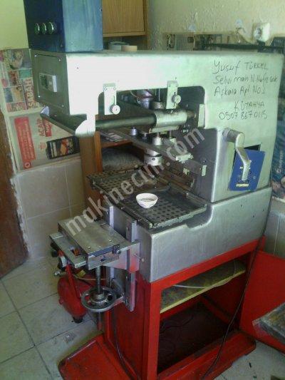 Satılık 2. El 4 RENKLİ AÇIK HAZNE TAMPON BASKI MAKİNESİ Fiyatları İstanbul Tampon baskı makinesi