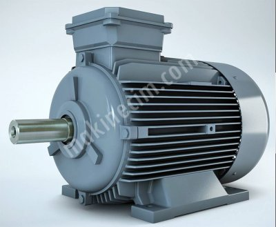 2 Adet Gamak Marka 45Kw 1500 Devir Sıfır Faturalı Yeni Nesil Elektrik Motoru