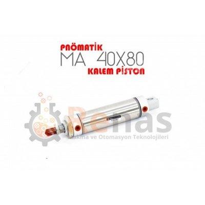 Satılık Sıfır Renas 40X80 Pnömatik Kalem Piston Fiyatları Konya piston,kalem piston,hidrolik,pnömatik