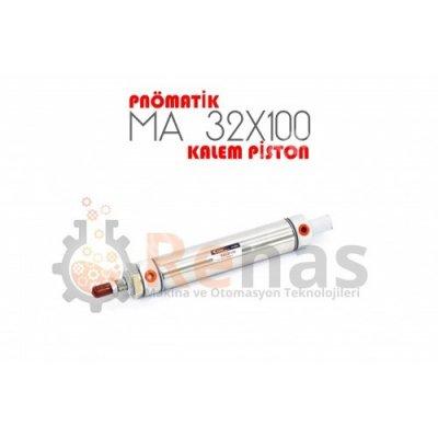 Satılık Sıfır Renas 32X100 Pnömatik Kalem Piston Fiyatları Konya kalem piston,piston,hidrolik,pnömatik