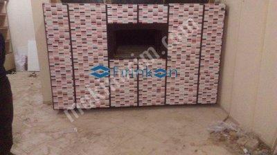 Fırın imalatı seyyar portatif taş Odunlu Fırınkon