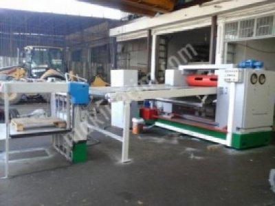 Satılık İkinci El bobin ebatlama makinası ve asansorlü Fiyatları Denizli bobin ebatlama makinesi,alman malı,bobi ebatlama