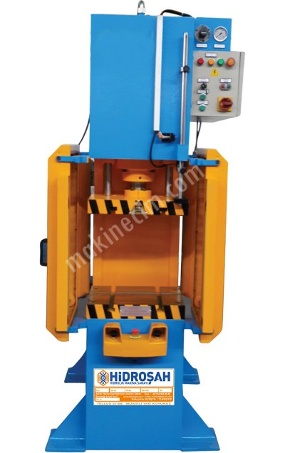 Satılık Sıfır 80 Ton C Tipi Hidrolik Pres Fiyatları İstanbul hidroşah,hidrolik,makine,ctipi,hidrolik,pres,100ton