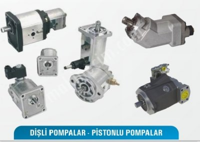 Dişli Pompa - Pistonlu Pompalar