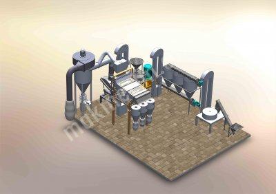 Doğal Taş Değirmen Bulgur Fabrikası Komple Tesis
