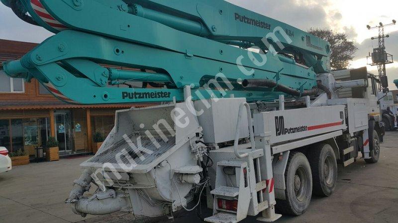 scond hand concrete pump putzmeister 36 mt For Sale Second