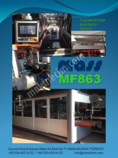 Satılık Sıfır Termoform makinası Servo Full otomatik Fiyatları Bursa Termoform thermoform vakum ambalaj viol viyol pet blister