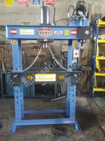 60 TONS HYDRAULIC WORKSHOP PRESS