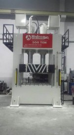 Hydraulic Press ..500 Ton Sac Sıvama Presi