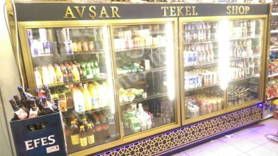 Satılık Sıfır 9 TAKSİT İMKANIYLA SIFIR SUTLUK Fiyatları İstanbul sütlük şişe soğutucular market dolabı buzdolabı kapalı sütlük