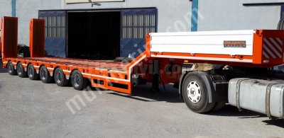 6 Axle Lowbed Semi Trailer