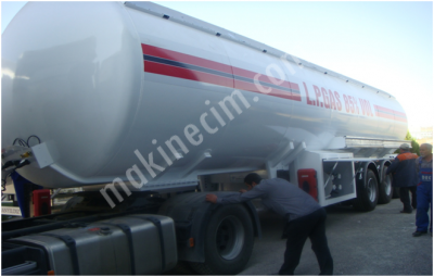 Gas Transport Lpg Semi Trailer The Factory 57 M3