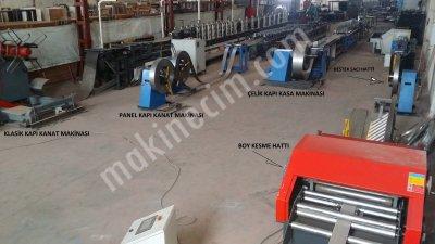 Çelik Kapı Üretimi Roll Form Makinaları