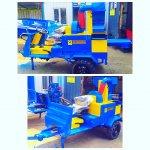 Fındık Toplama Makinası Gır Gır Ve Traktör Arkası