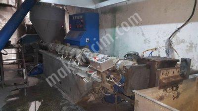120Lik Granül Makinası 320 Kğ Kapasiteli Gaz Almalı Çalışır Vaziyette 100 Lük Agromel