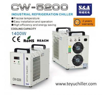 Recirculating chiller for laboratory with temperature range of 5℃-35℃