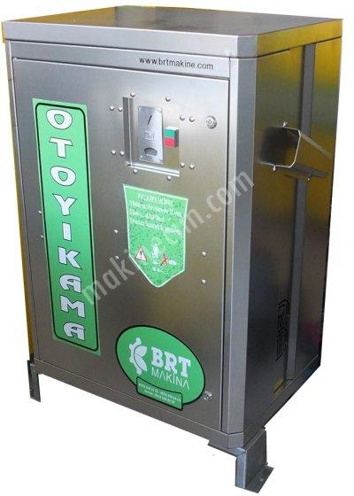 Paralı - Jetonlu Yıkama Makinesi (Krom)