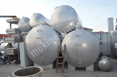 Paslanmaz Bal Tankı Bal Süt Depolama Stok Tankları
