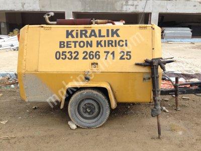 Beton Kırıcı Kiralık Kompresör  Beton Kırma Beton Asfalt Taş Kırımı İstanbul