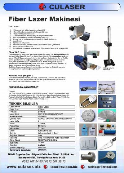 Satılık Sıfır Laser Fiber Markalama Makinesi 20w Fiyatları İstanbul fiber laser,lazer makinesi,fiber lazer,kalıp,derin kazıma,lazer satış,lazer servis,lazer promosyon,ürün markalama,reklam,ajans,tarih markalama,lazer kodlama,uygun fiyat,servis,laser machine,prinç kesim,bakır kesim,aluminyum kesim