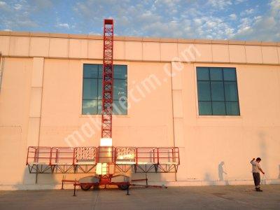 Satılık 2. El Otomatik İskele Fiyatları Antalya otomatik iskele/motorlu iskele/çalışma platformu