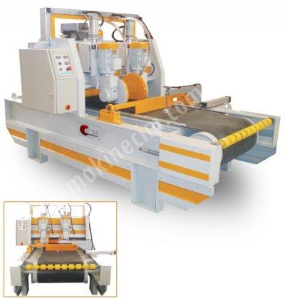 2 Kafalı Kesim Makinesi (Triming) Bantlı