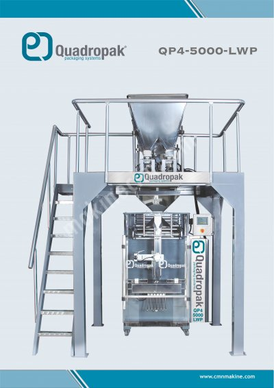 Qp 5000 Lwp Bakliyat Paketleme Makinası