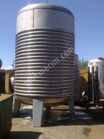Paslanmaz Çelik Reaktör Krom Çelik 316 Kalite İmalat