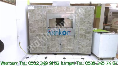 Stone Oven Bakery 200X200 Portable Gas Ce Certified Manufacturing