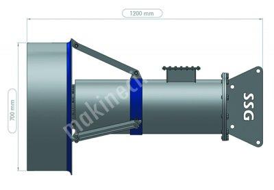 Gübre Karıştırıcı  Mikser   Ssg S 160 5 5 Kw