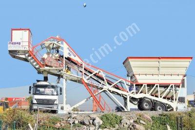 Satılık Sıfır 60 m3/h MOBİL BETON SANTRALİ - SIFIR- ( Mesaş Mühendislik ).. Fiyatları Ankara mobil beton santrali,beton santrali,mikser,mobile concrete plant,concrete plant,mobile concrete batchıng plant
