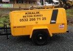 Kiralık Beton Kırıcı Dizel Hava Kompresörü Fiyatları İstanbul