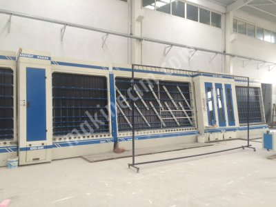2 El Yıkama Makinesi   Jumbo İndirme  Butil Thikol  Jumbo Cam Vantuju