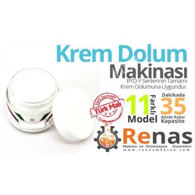 Krem Dolum Makinası 10-300 Ml Arası