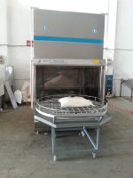 Lük 1500 Pneumatic Rotary Bucket Auto Parts Washing Machine