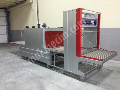 Turangil Tgs120 Yarı Otomatik 120X65 Tünelli Polietilen Shrink Ambalaj Makinesi