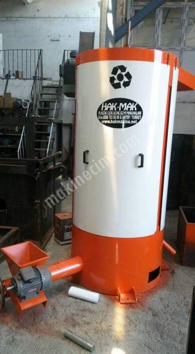 Plastık Kırma Yıkama Hattı Granür Akromel Kırma Yıkama