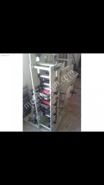 Satılık 2. El 4 Renk 18cm Flexo Etiket Baskı Makinası Fiyatları Bursa etiket,baskı,flexo,matbaa
