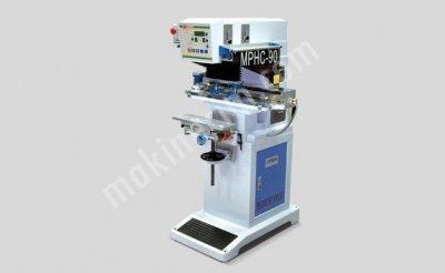 Tek Renk Kapalı Hazne Tampon Baskı Makinesi