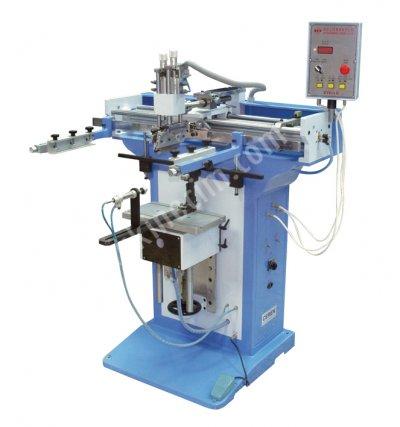 Satılık Sıfır Yarı Otomatik Yuvarlak Serigrafi Baskı Makinesi Fiyatları İstanbul yuvarlak serigrfai baskı makinesi,düz serigrfai baskı makinesi,yuvarlak ve düz serigrafi baskı makinesi,cerenserigrafi,ceren serigrafi