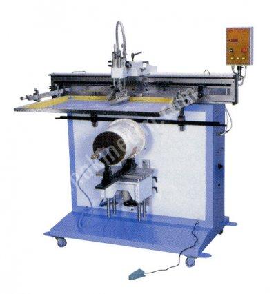Satılık Sıfır Yarı Otomatik Yuvarlak Serigrafi Baskı Makinesi Fiyatları İstanbul yuvarlak baski,yuvarlak baski makinesi,yuvarlak serigrafi baski makinesi,cerenserigrafi,ceren serigrafi