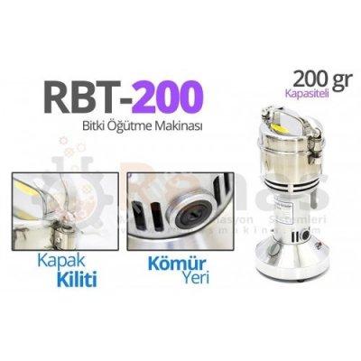 Rbt-200 Bitki Öğütme Makinası