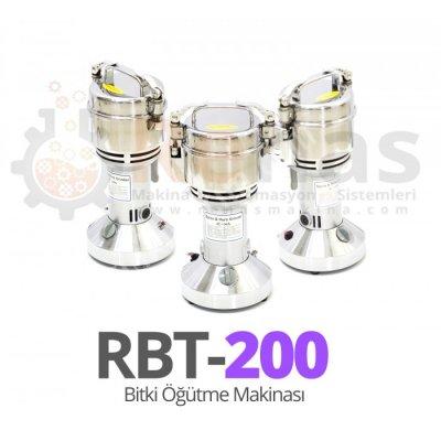 Rbt-200 Plant Grinding Machine