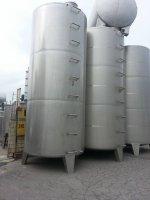 Paslanmaz Süt Tankı 30 Tonluk Su- Zeytinyagı Alkol-Şarap- Yag Krom Depo2. E L Çıkma Kazan Makina