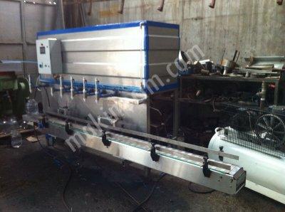 Sıvı Yağ Dolum Makinesi Tam Otomatik Elktronik Ve Bantlı Sistem