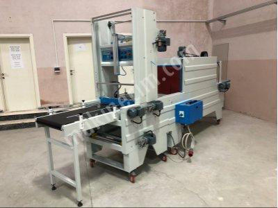 Tam Otomatik Önden Konveyör Beslemeli 60X45 Tünelli Polietilen Shrink Ambalaj Makinesi