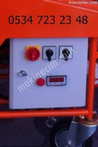 Alçı Sıva Makinesi Mil Helezon 130 T L